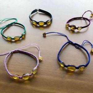 Beaded Stone Bracelets Bundle